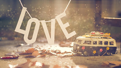 i love to play (auntneecey) Tags: love vw vwbus toy water 365the2017edition 3652017 day291365 18oct17