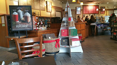 FalconBoard Trees (Britten Studios) Tags: pointofpurchase retail display coffee shop