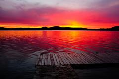 near the end (cszechy) Tags: lakeofbays muskoka cottage cottagecountry ontario canada huntsville dock summer cabin sunset