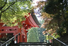 Bell (Igor Voller) Tags: japan temple red tree trees plant stairs handrail 日本 関西 お寺 赤 階段 木 葉