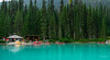 Emerald Lake Boat House (Bob C Images) Tags: water lake boats emeraldlake forests trees boathouse mountains glaciers landscapes canada travel sonya7rii