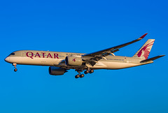 A7-ALA (jsheehan717) Tags: phl philadelphia airplane airliner airlines qatar airways a350 airbus a7ala