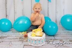 McElvy Studios Copyright 2017 -0010 (photoobsessed1) Tags: smashthecake one baby boy cake balloon