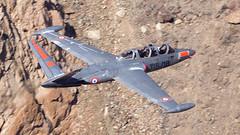 1966 Fouga CM-170 Magister I N315MB/498 I Swift Air International Inc (MarkYoud) Tags: rainbow canyon star wars jedi transition nevada death valley sidewinder low level military fast jet