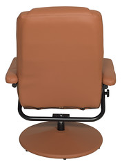 N1701TN_4 (RegencyOfficeFurniture) Tags: regency regencyofficefurniture regencyseating seating chair recliner reclining lounge swivel armchair vinyl ottoman footrest rotating lightweight impresa n1701 toffee tan