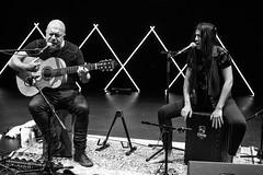 Hernan Romero, Kestutis Vaiginis, Carmen Estevez (USA-Leedu-Hispaania) (Festival JAZZKAAR) Tags: jõulujazz2017 hernanromerokitarr laul cajon kestutisvaiginissaksofonid carmenestevezcajon