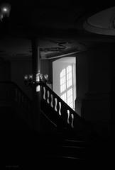 St. Michaelis (jehazet) Tags: churchinterior hamburg germany duitsland kerk interieur zwartwit bw jehazet