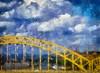 Pittsburgh 16th Street Bridige (amycicconi) Tags: 16thstreetbridge autopainter benson bridge iphone iphoneography painting pennsylvania pittsburgh