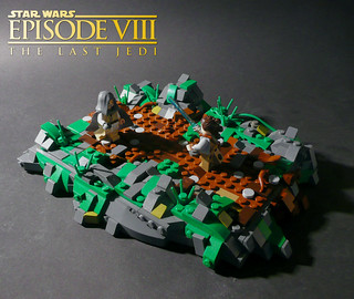 Star Wars Episode VIII - The last Jedi - Training on Ahch-To