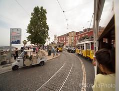 By tram in Lisbon, Portugal (KronaPhoto) Tags: 2017 portugal lisbon lisboa street travel town tram trikk vehicle kjøretøy tourism old tourist by capital drive