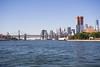 East River, Puentes de Manhattan y Brooklyn.
