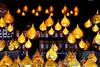Sundrops / Angels Market (Images George Rex) Tags: london westminster uk lamps lights christmas hydeparkwinterwonderland christmasfair england photobygeorgerex unitedkingdom britain imagesgeorgerex lampshades angelschristmasmarket christmasimage x100s tealights