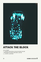 Attack the Block alternative movie poster (inspiration_de) Tags: alternative design graphicdesign illustration poster vintage