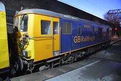 "GB Railfreight Class 73/9, 73962 ""Dick Mabbutt"" (37190 ""Dalzell"") Tags: gbrf gbrailfreight hectorgroup nr networkrail yellow testtrain ee englishelectric vulcanfoundry brushtraction rebuild jd 2xcumminsqsk19 ed electrodiesel shoebox class73 class739 73962 dickmabbutt 73204 73125 e6032 crewe"