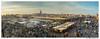Atardecer en la plaza de Jamaa el-Fna. Marrakech. Marruecos. //Sunset in the Jamaa el-Fna square. Marrakech Morocco. (José María Gómez de Salazar) Tags: marruecos morocco jamaaelfna yamaaelfna jamaa yamaa noctuno plaza comida panoramica sony marrakech