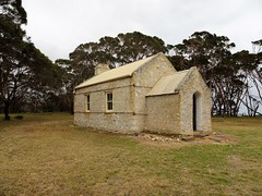 Wisanger on Kangaroo Island. The local hall and school room built in 1885. The school closed in 1945 when Kingscote Area School was established. (denisbin) Tags: wisanger kignscote school schoolroom museum desk classroom needlework sacentenary anglican church