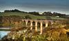 Destination - Winter! (suerowlands2013) Tags: forderviaduct paddingtontopenzancerailwayline fordercreek saltash cornwall trematoncastle autumn reflections train
