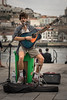 Performer (Fret Spider) Tags: porto performance artist audience shoemaker musician portugal trip vacation bokeh bokehdelicious oof outoffocus dof depthoffield manuallens sonya7rii leicaaposummicron50mmf20asph honeymoon europe river guitar sing onemanband