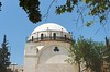 Hurva Synagogue in Jewish Quarter of the Old City in Jerusalem (chrisdingsdale) Tags: synagogue hurva jewish quarter oldcity jerusalem renovated israel building house architecture architectural religious new judaism judaic dome white sandstone blocks bricks blue sky summer day hurba palestine restored rebuilt ruin history historic