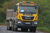 MAN Tipper Kane GN16 YED (SR Photos Torksey) Tags: transport truck haulage hgv lorry lgv logistics road commercial vehicle freight traffic man tipper kane