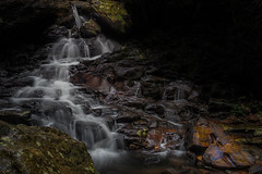Rush Creek 1 (RoosterMan64) Tags: australia cascade landscape longexposure rushcreek springbrooknationalpark water waterflow waterfall