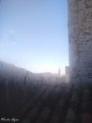 Window (Marta Hyun) Tags: steam vaho window beautiful bonito mist sky