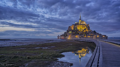 _DSC2053 copy - Explored (kaioyang) Tags: montsaintmichel blue hours normandy france sony a7r2 voigtlander nokton 40mm f12 mt