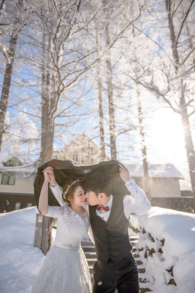 北海道婚紗 緩慢民宿婚紗拍攝