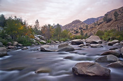 Interminable (PatrickJamesPhoto) Tags: kern river california sequoia national forest sunset water long exposure