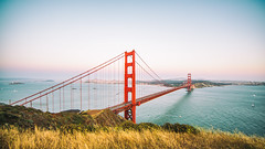 All Her Style and Beauty (Thomas Hawk) Tags: 75thbirthdaygoldengatebridge america batteryspencer california goldengatebridge marin marinheadlands sanfrancisco usa unitedstates unitedstatesofamerica bridge millvalley us fav10 fav25 fav50 fav100