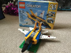 LEGO Creator Super Soarer (splinky9000) Tags: kingston ontario lego creator toys super soarer