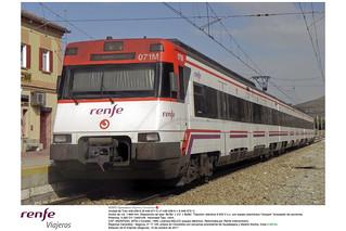 Renfe Viajeros Cercanías - 446-036 - regional de Cercedilla a Segovia - El Espinar estación