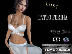 TOP STRIKER - FERIHA ~ GIFT !! (Top Striker) Tags: topstriker feriha tattoo unisex gift promotion omega