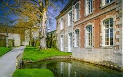 Architecture - 4071 (ΨᗩSᗰIᘉᗴ HᗴᘉS +19 000 000 thx) Tags: castle annevoie château architecture water eau jardinsdannevoie belgium belgique aa be bel hdr 3exp europa europe hensyasmine yasminehens