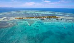 Escapade Ilot Maitre - New Caledonia (Andy.Gocher) Tags: andygocher canon100d canon1018mm windowseat aerial pacific coast coralsea bluesky blue green water aqua coralreef clouds sea