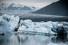 Jökulsárlón Lagoon - Iceland (Toine B.) Tags: iceland jokulsarlon longexposure landscape paysage nikon d750 hoya mer océan sable ciel eau plage sea glacier sigma 70200