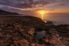 Amanecer en calblanque (J. Cuenca) Tags: calblanque cartagena canon canon6d cielo cala murcia mediterraneo mar sol sunrise amanecer tranquilidad nubes creek rocks tranquility mediterranean sea 1635