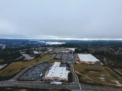 poulsbo washingston pnw dreary cloudy aerialphotography... (Photo: _jmeeter on Flickr)