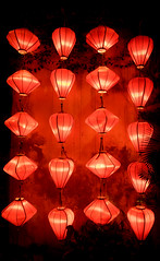 Back of the Pack (ajecaldwell11) Tags: lanterns lanternerouge ankh hoian vietnam xe2 caldwell fujifilm red