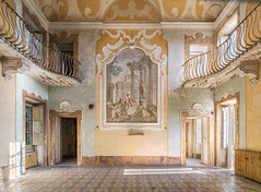 Mercury Rising (Paul J Photography) Tags: urbex hospital abandoned italy painted