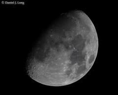 Waxing Gibbous Moon (DJL329) Tags: canon eos5dmarkiv ef400mmf4doisii ef2xextenderii ef14xextenderiii moon
