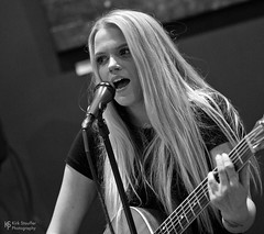 Kellie Rose Demmel @ Third Culture Coffee (Kirk Stauffer) Tags: kirk stauffer photographer nikon d5 adorable amazing attractive awesome beautiful beauty charming cute darling fabulous feminine glamour glamorous goddess gorgeous lovable lovely perfect petite precious pretty siren stunning sweet wonderful young female girl lady woman women live music tour concert show stage gig song sing singer vocals performer musician band lights lighting indie pop long blonde hair blue eyes white teeth model tall fashion style portrait photo smile smiling playing acoustic guitar seattle black bw