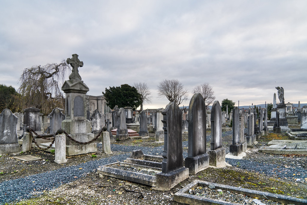 MOUNT JEROME CEMETERY IS AN INTERESTING PLACE TO VISIT [IT CLOSES AT 4PM]-134359