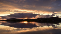 Sunset in Dingle (Barbara Walsh Photography) Tags: sunsetdingle sea water reflection evening ireland kerry atlantic