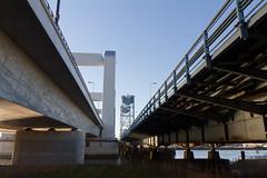 Rotterdam Europoort - oude en nieuwe Botlekbrug-4025 (Quistnix!) Tags: 2016 botlekbrug europoort rotterdam