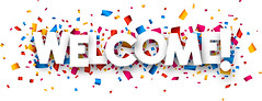 Welcome sign (SouthCoast_TV) Tags: welcome sign greeting hospitality entrance event novelty collection arrival arrivals store card site word sale serpentine gradient decoration party emotions happy birthday opening innovation innovations confetti vector paper white font text celebrate celebration background colorful fireworks blue red orange yellow pink ocher vinous azure zzzaacaaaogbhfghfpdcdffpdcdadbdffpdade