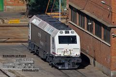 333.340 27.11.2017 (Mariano Alvaro) Tags: 333340 renfe mercancias tcr r pintura nueva prima locomotora diesel