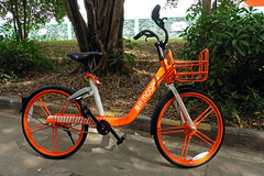 Public Share Bike Shenzhen China (dcmaster) Tags: public share bike shenzhen china mobike