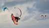 In the clouds (vanderven.patrick) Tags: clouds sky airtime sports kitesurfing