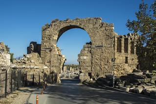 SIDE ( Σίδη) Ancient City. Antalya/Turkey